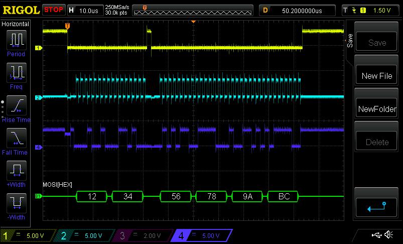 STM32 SPI mit 16 Bit und HAL - Mikrocontroller net