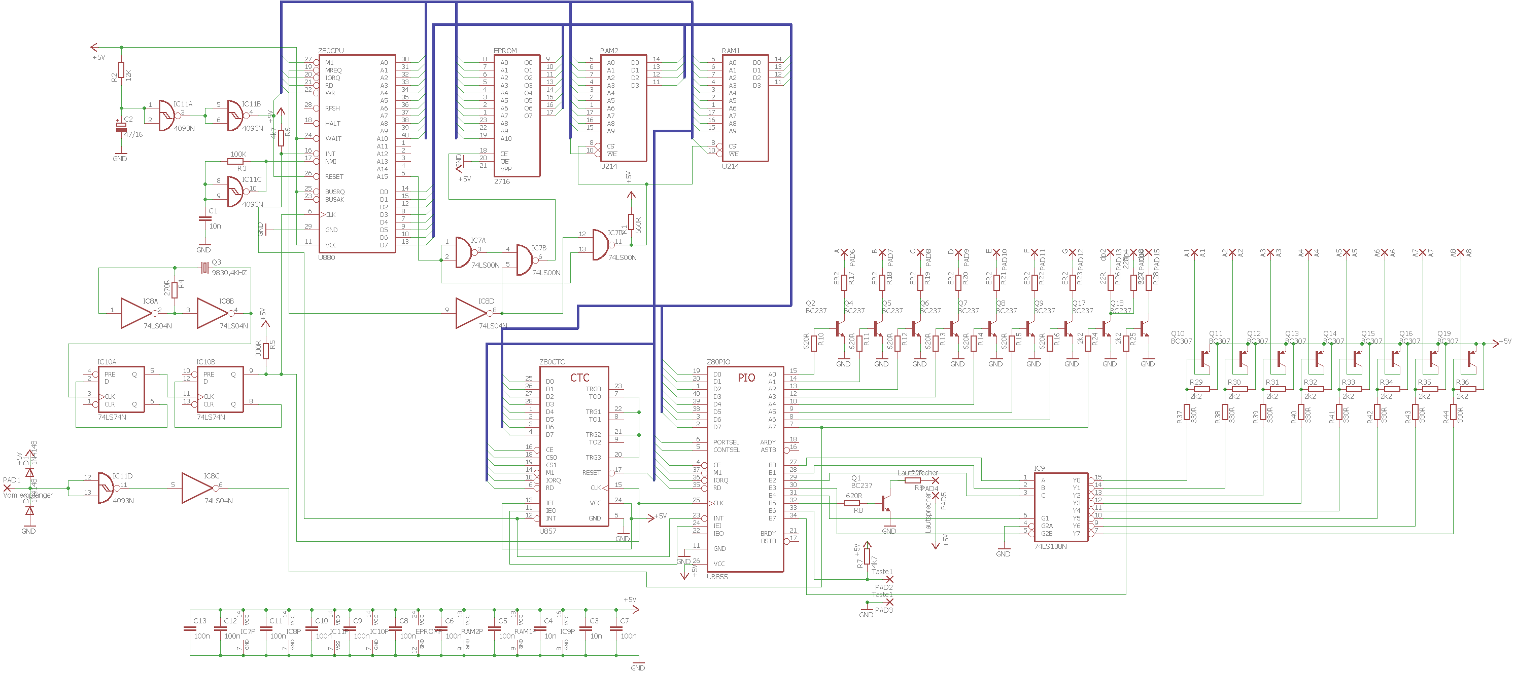 Funkuhr mit Mikroprozessor FA 5/86 - Mikrocontroller.net