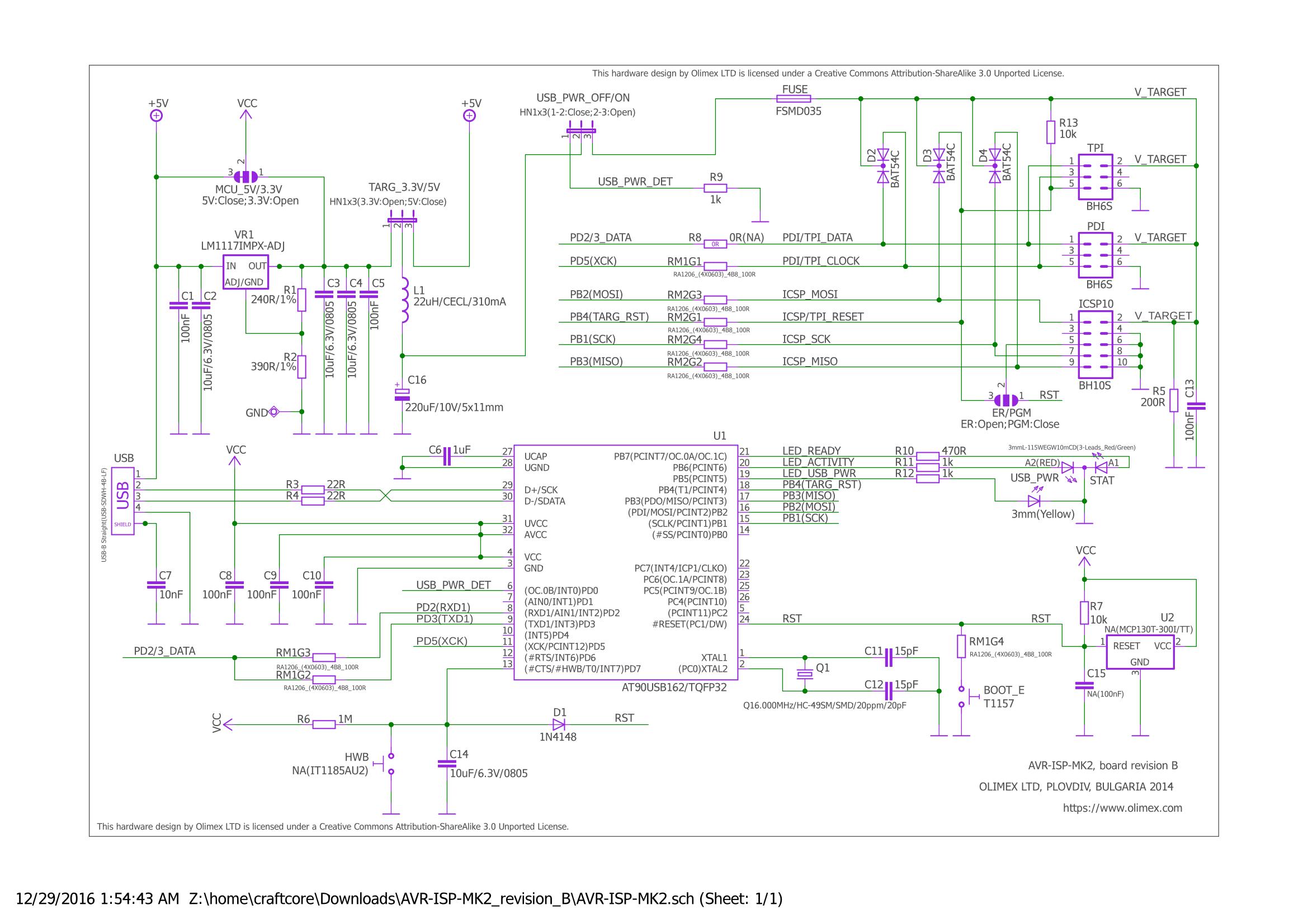 fragen zu schaltplan (AVR-ISP-MK2-klon) - Mikrocontroller.net