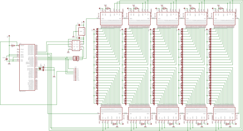 Schaltplan Rotordisplay - Mikrocontroller.net