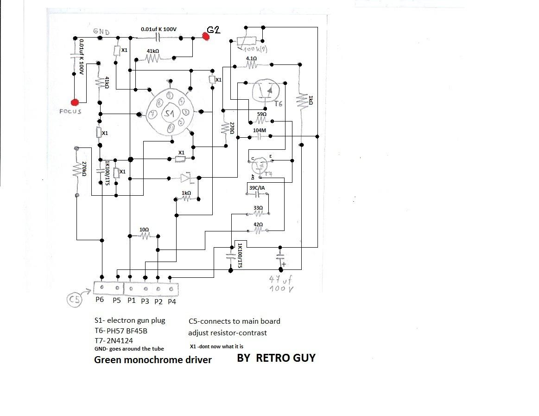 Großzügig Psx Vga Schaltplan Galerie - Schaltplan Serie Circuit ...