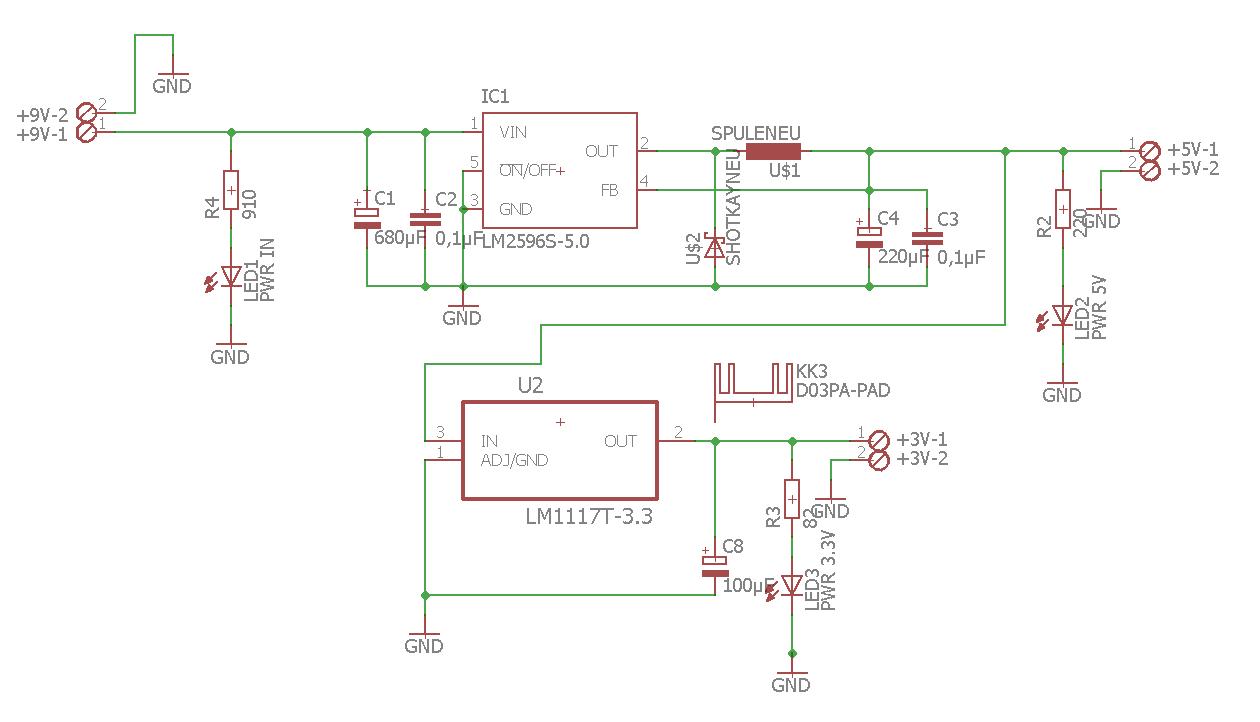 Spannungsversorgung über Spannungsregler - Mikrocontroller.net