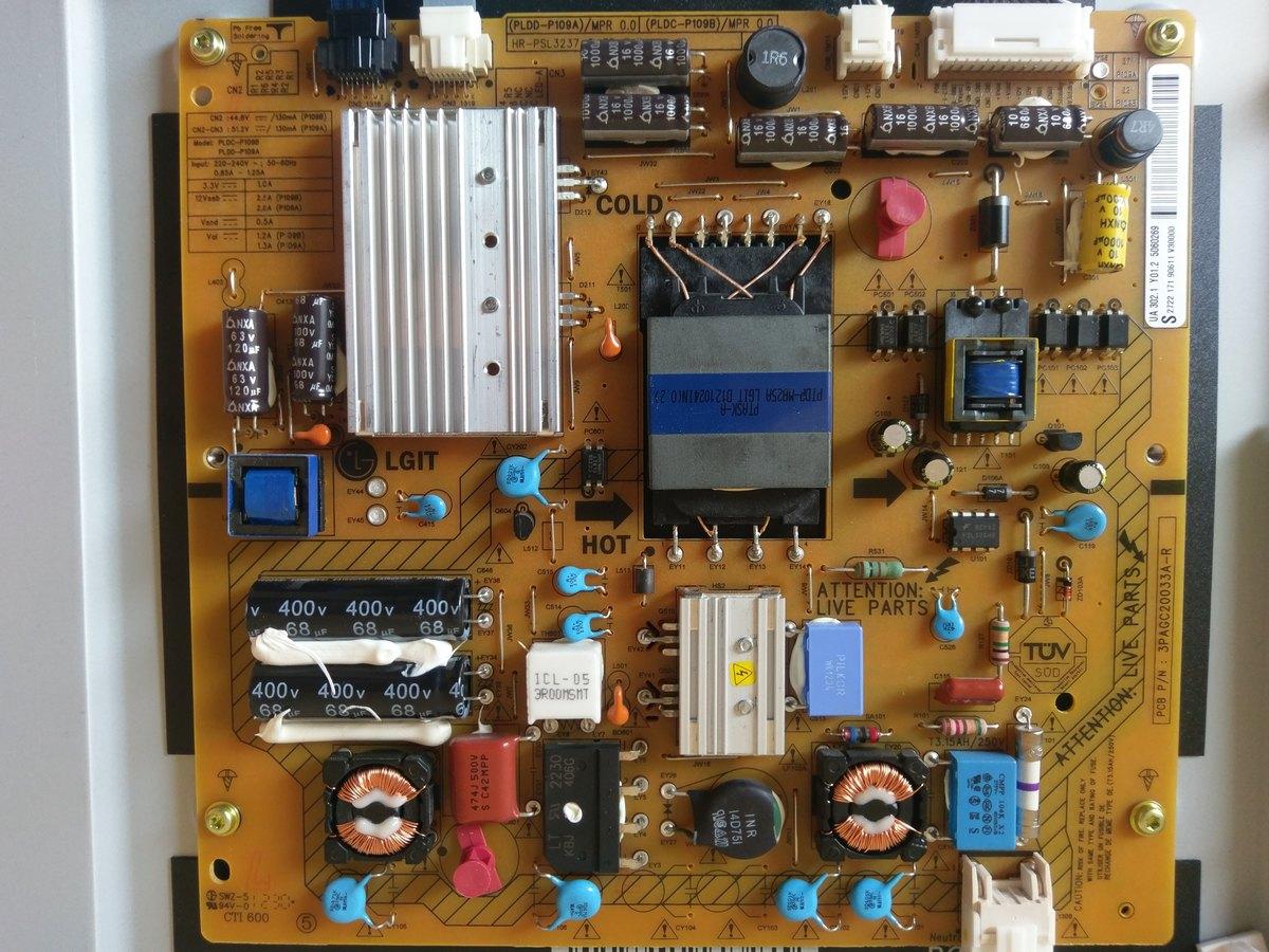 Netzteil Philips Led Tv Reparieren Mikrocontroller Net