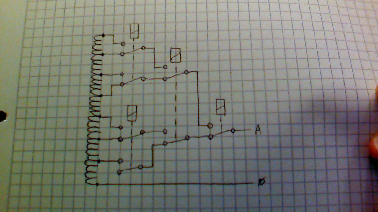7 relais, nur eins darf schalten - Mikrocontroller.net