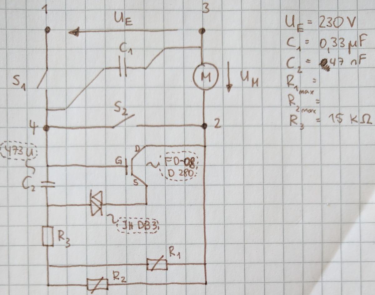 Bohrmaschine - Schaltung verstehen - Mikrocontroller.net