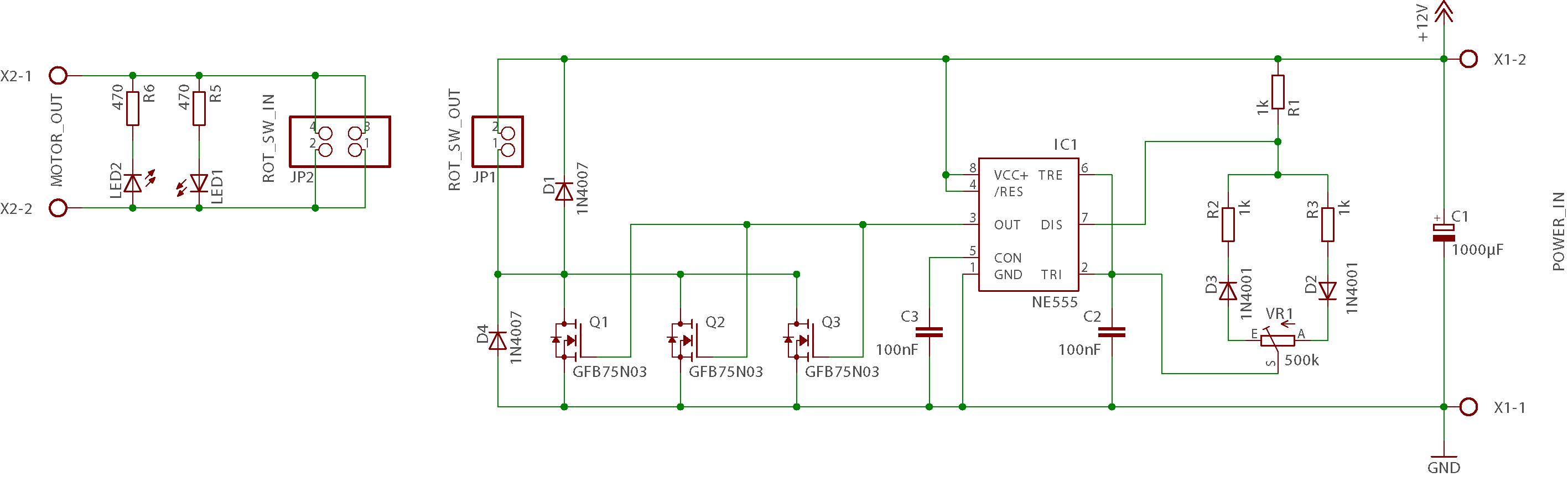 PWM-Motorregelung: Kollektives MOSFET sterben - Mikrocontroller.net