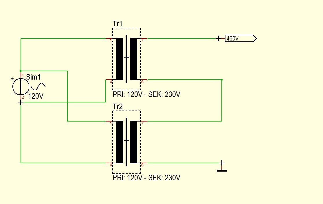 Trafo in Serie schalten und dann Regeln - Mikrocontroller.net