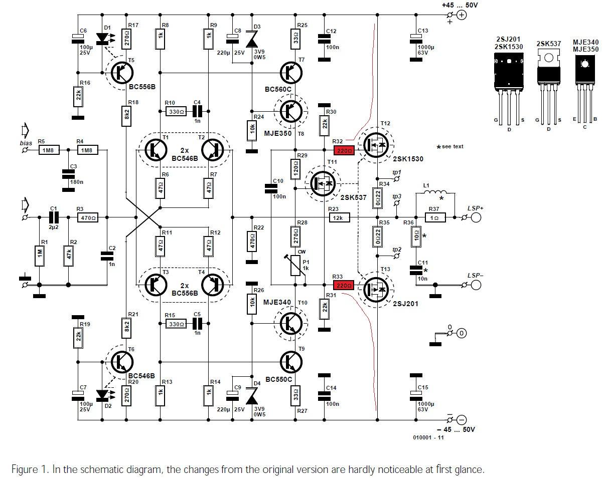 Audio Endstufe, Verständnissfragen - Mikrocontroller.net