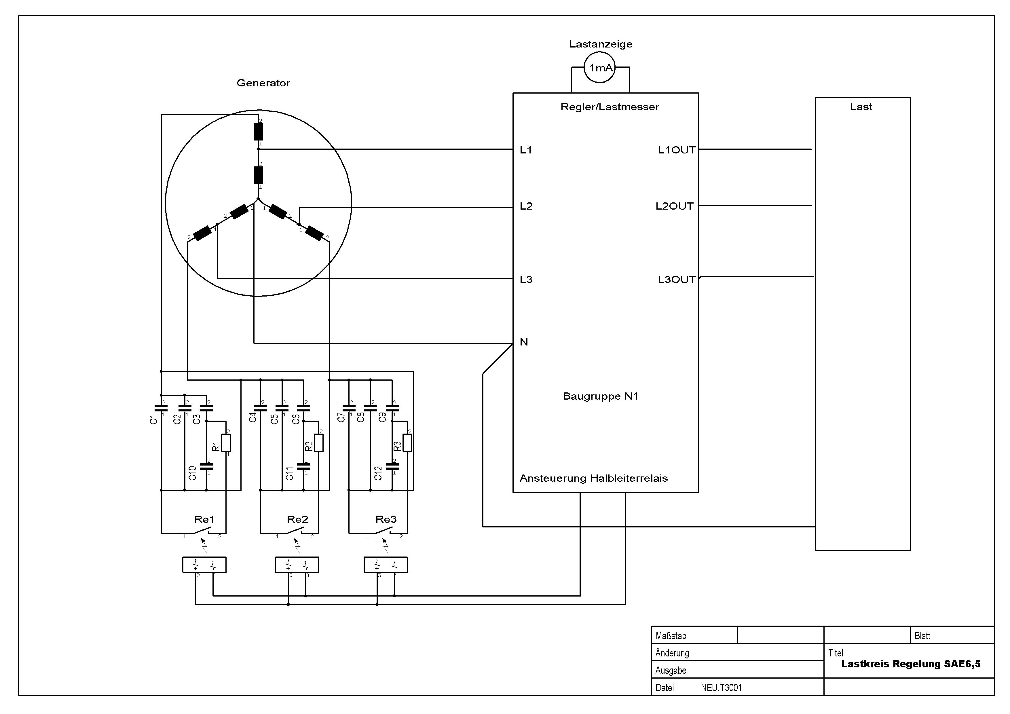 Beste Einfacher Generator Schaltplan Galerie - Der Schaltplan ...
