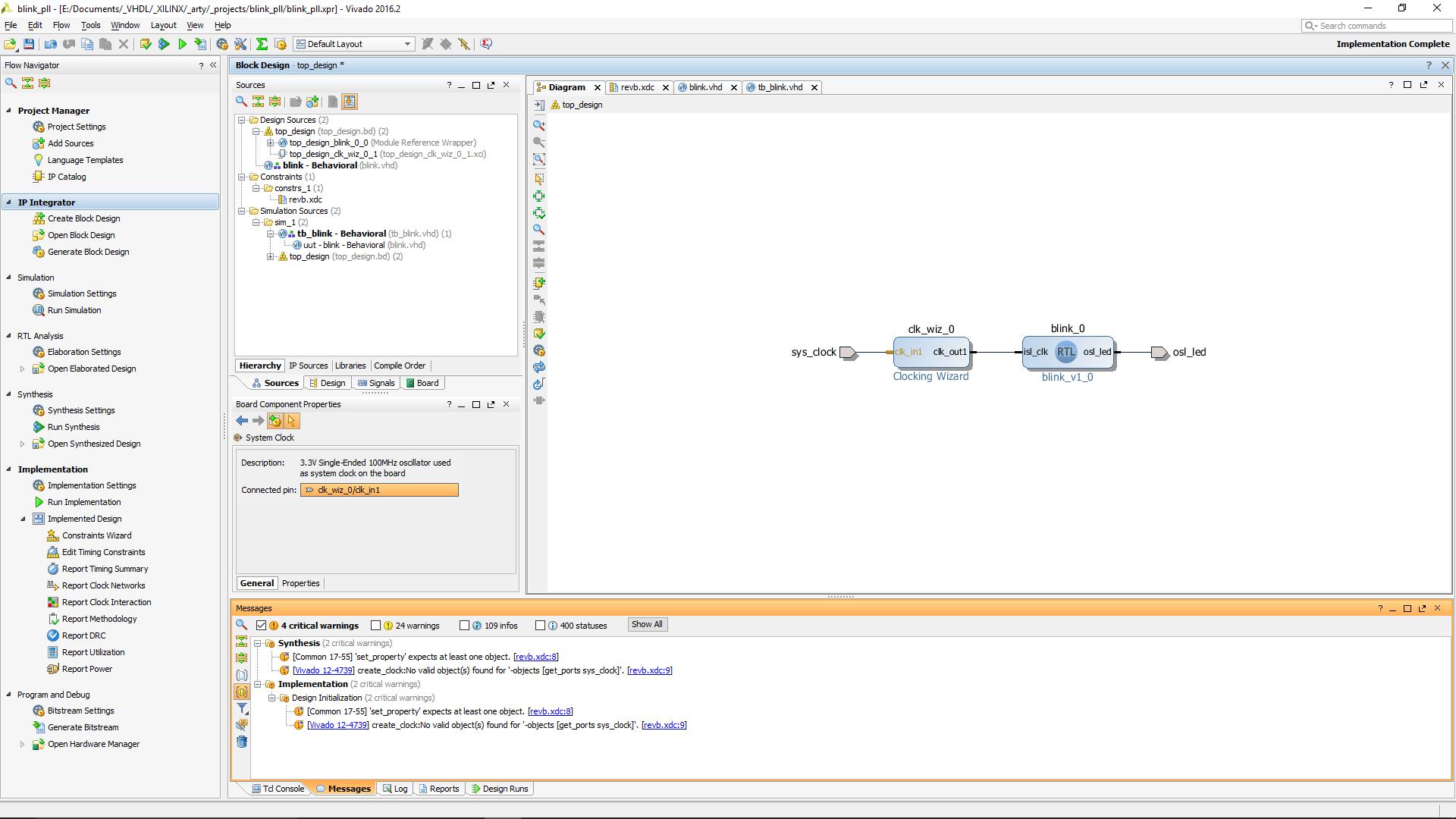 Vivado 16 2 Clock Constraits bei PLL - Mikrocontroller net