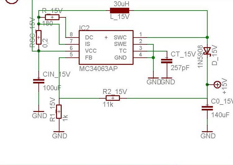 Mc34063 Als Step Up Arbeitet Nicht Mikrocontroller Net