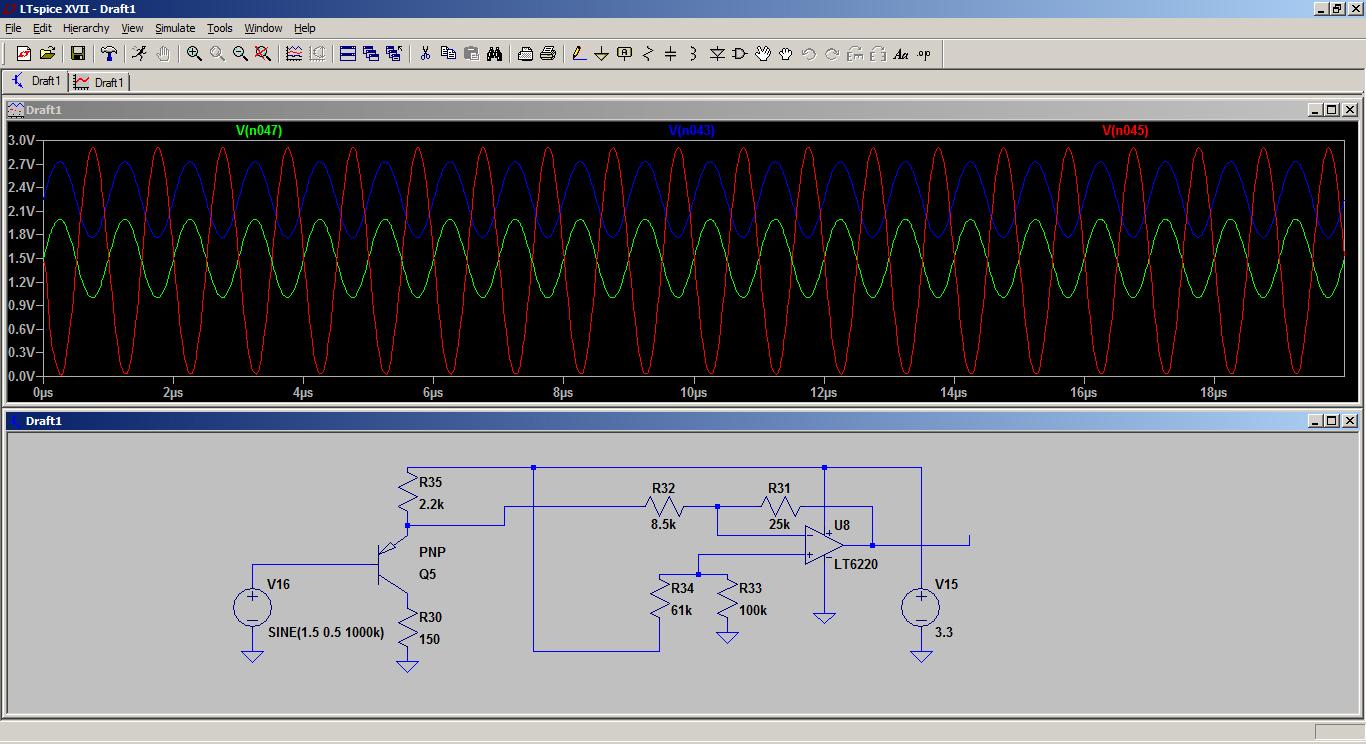 ADC-Setup CCD Zeilensensor TCD1103gfg an Raspberry Pi mit