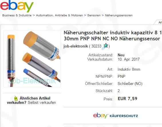 Ziemlich 2 Draht Näherungssensor Galerie - Die Besten Elektrischen ...
