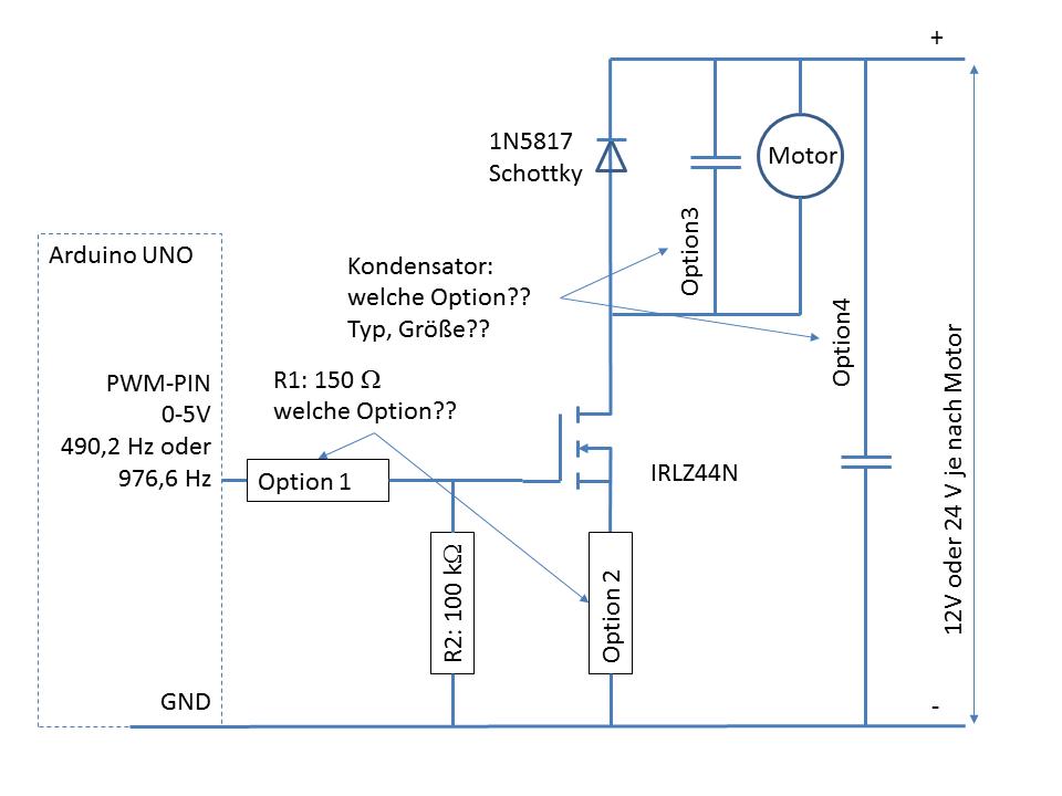 PWM-Drehzahlregelung Wasserpumpe mit DC bürstenloser Motor ...