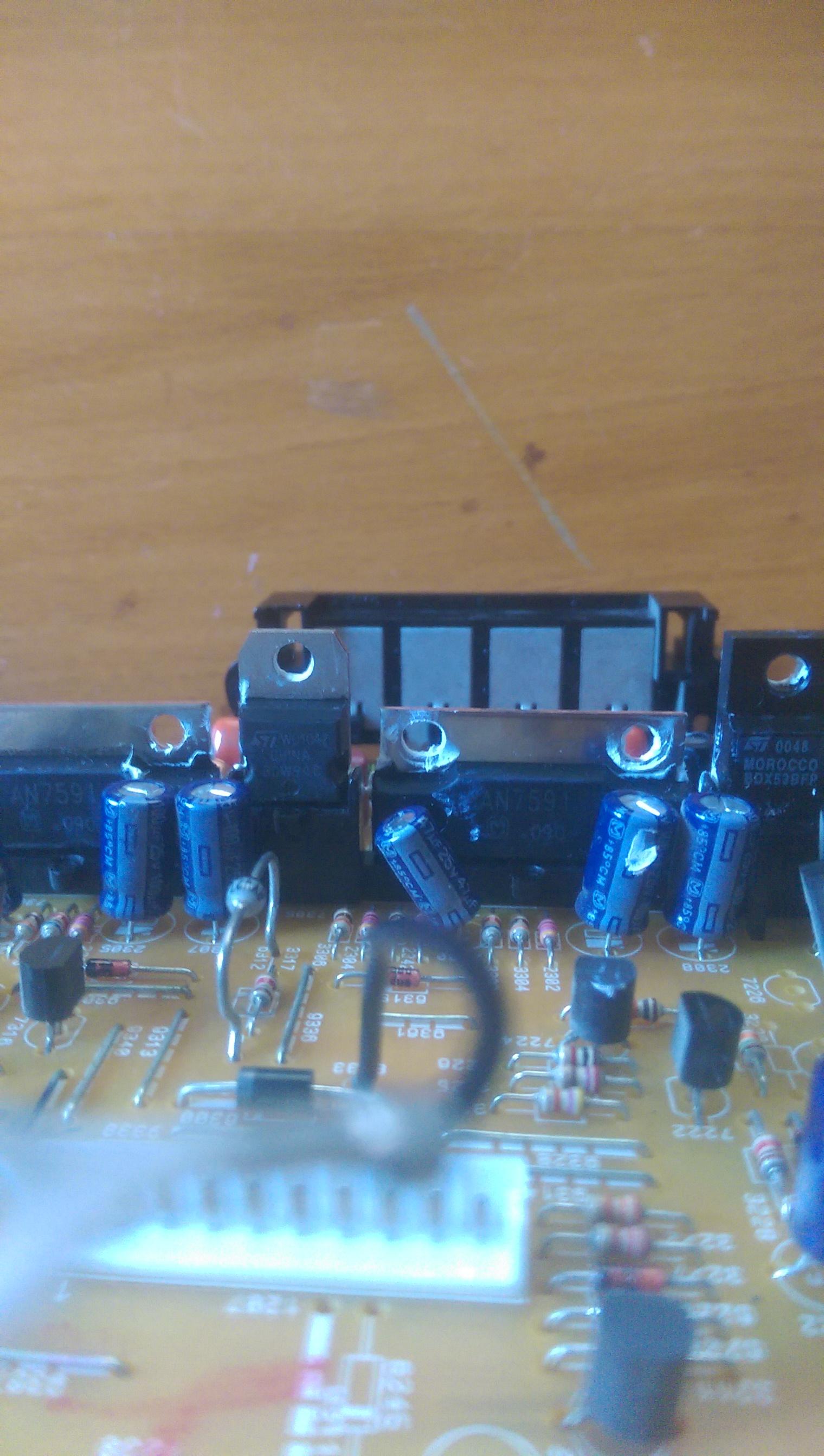Amplifier board(JC-03) mit zwei an7591 richtig anschliesen und ...