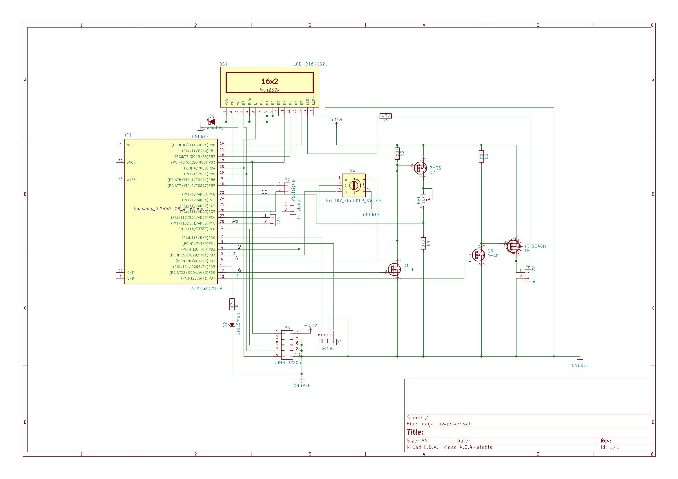 Unterspannungs Abschaltung 6V - Mikrocontroller.net