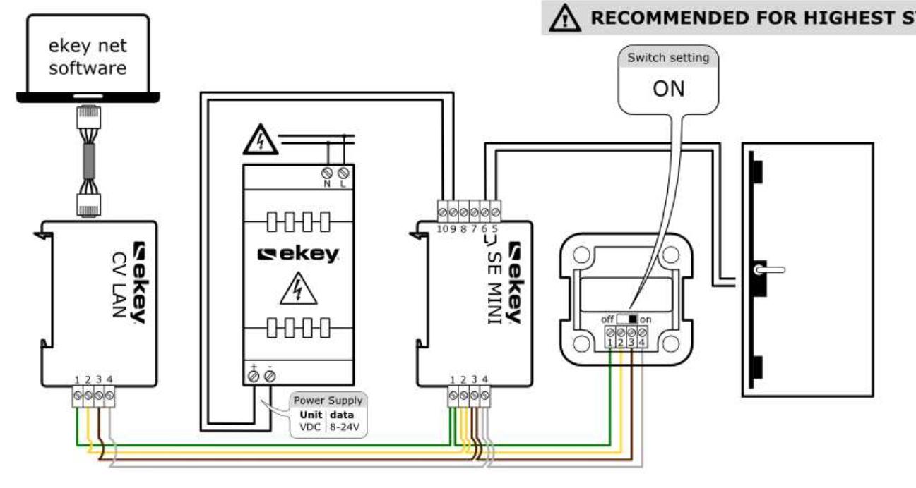 Türöffner mit zwei Spannungsquellen steuern - Mikrocontroller.net