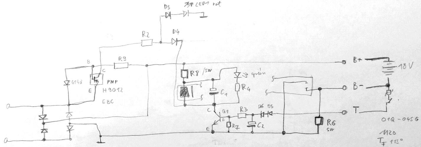 Ladegerät Akkuschrauber 18V (NiCd) - Mikrocontroller.net