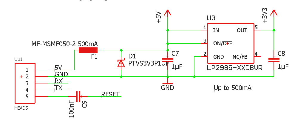 3.3V Spannungsregler Ausgangsspannungs zu hoch - Mikrocontroller.net