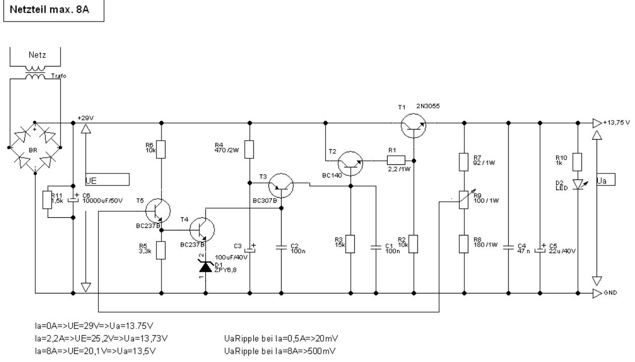 Gleichrichter und Trafo werden heiss - Mikrocontroller.net