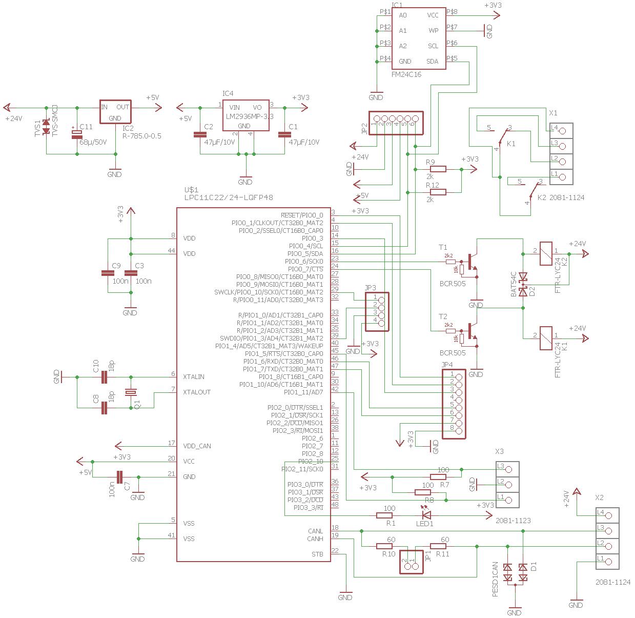 CAN UP - Aktor (LPC11Cxx) - Mikrocontroller.net