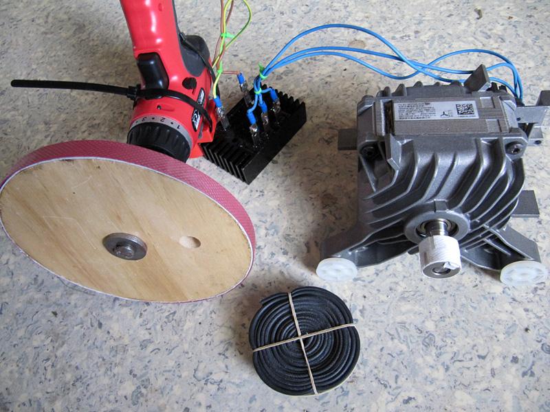 Siemens brushless motor waschmaschine als generator