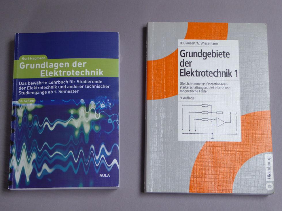 V elektrotechnik b cher f rs studium zum for Elektrotechnik studium
