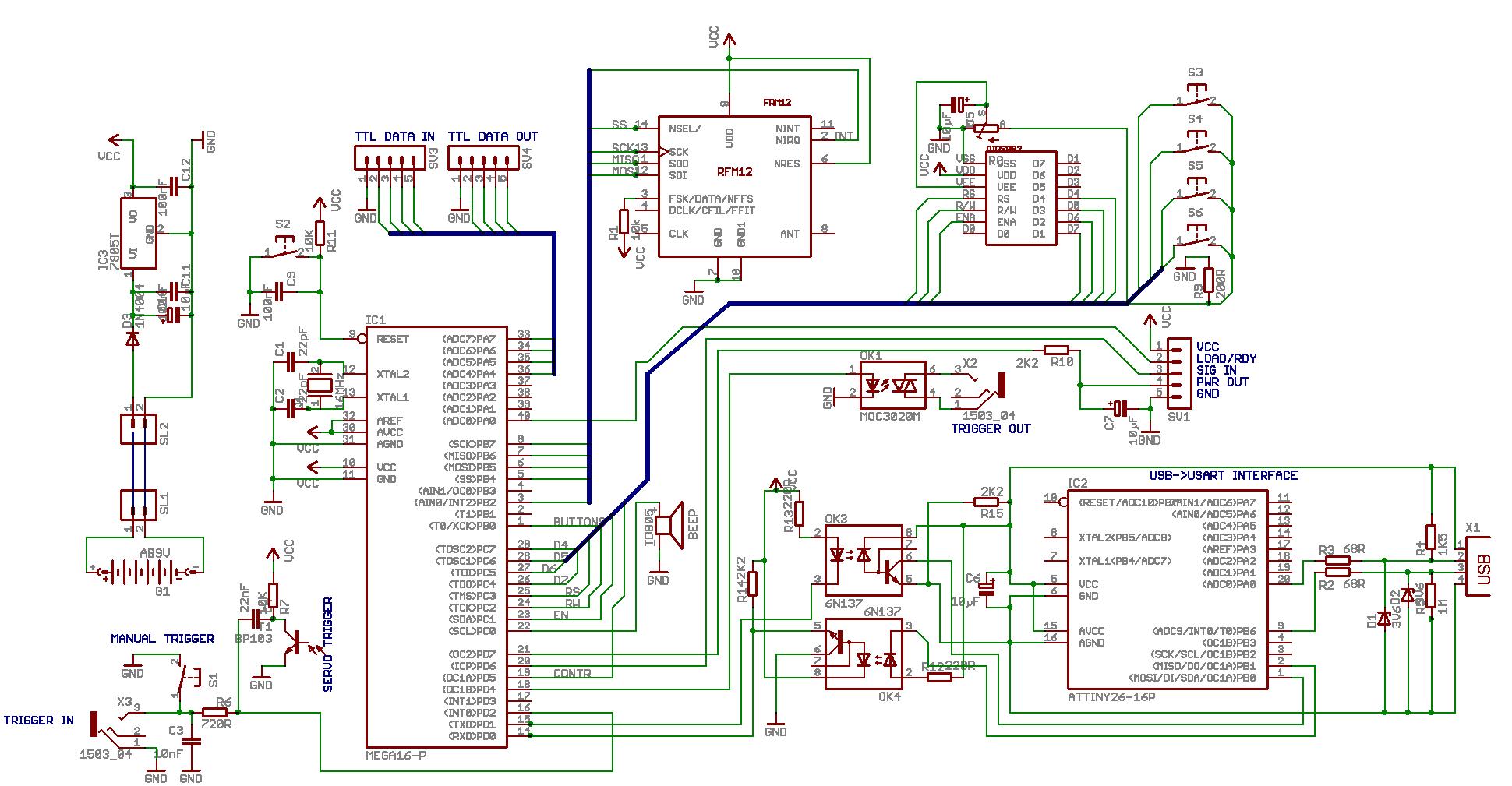 USB galvanisch trennen über ATTINY/USART - Mikrocontroller.net