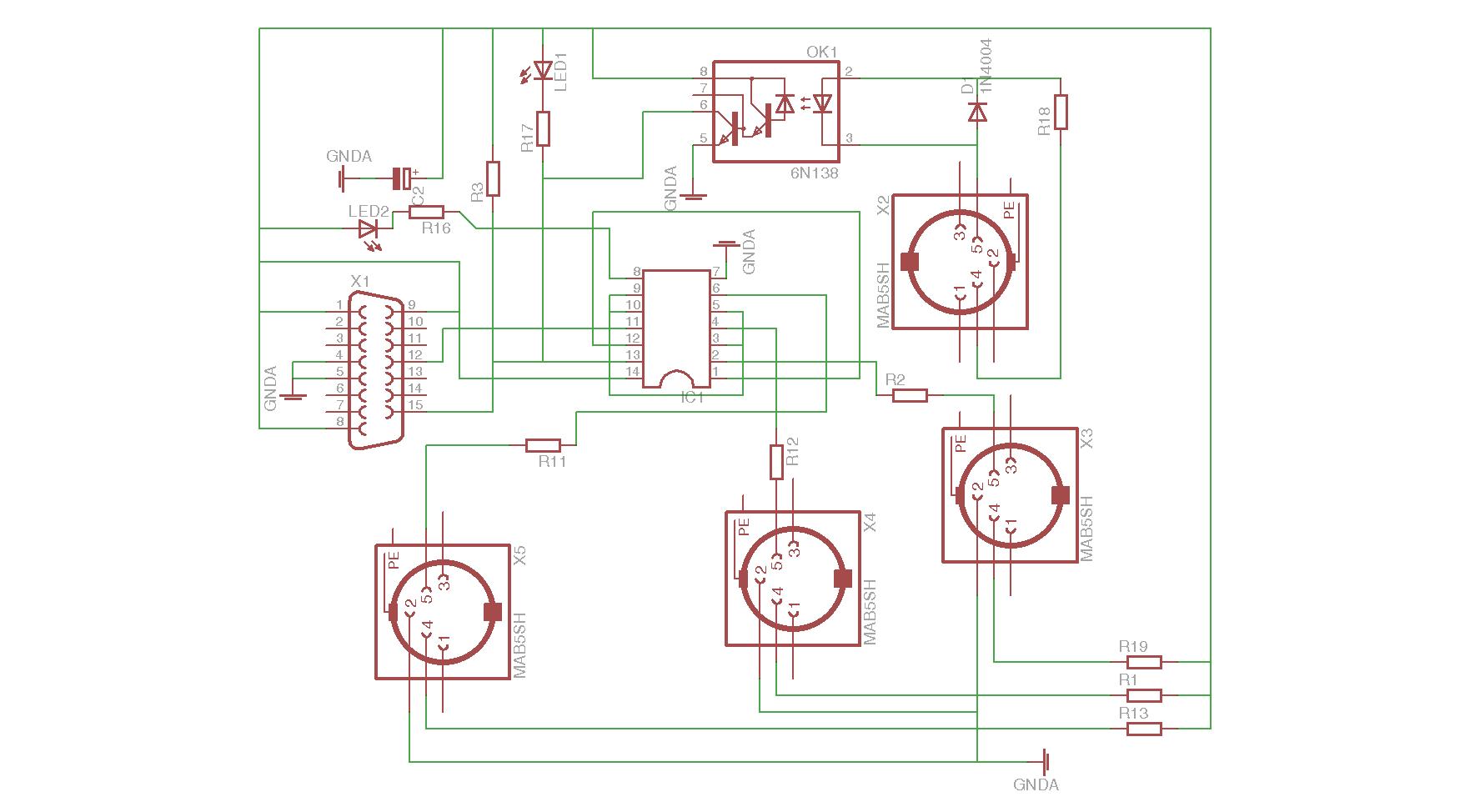MIDI-Gameport-Interface: Wie richtig verkabeln? (PC hat kein USB ...