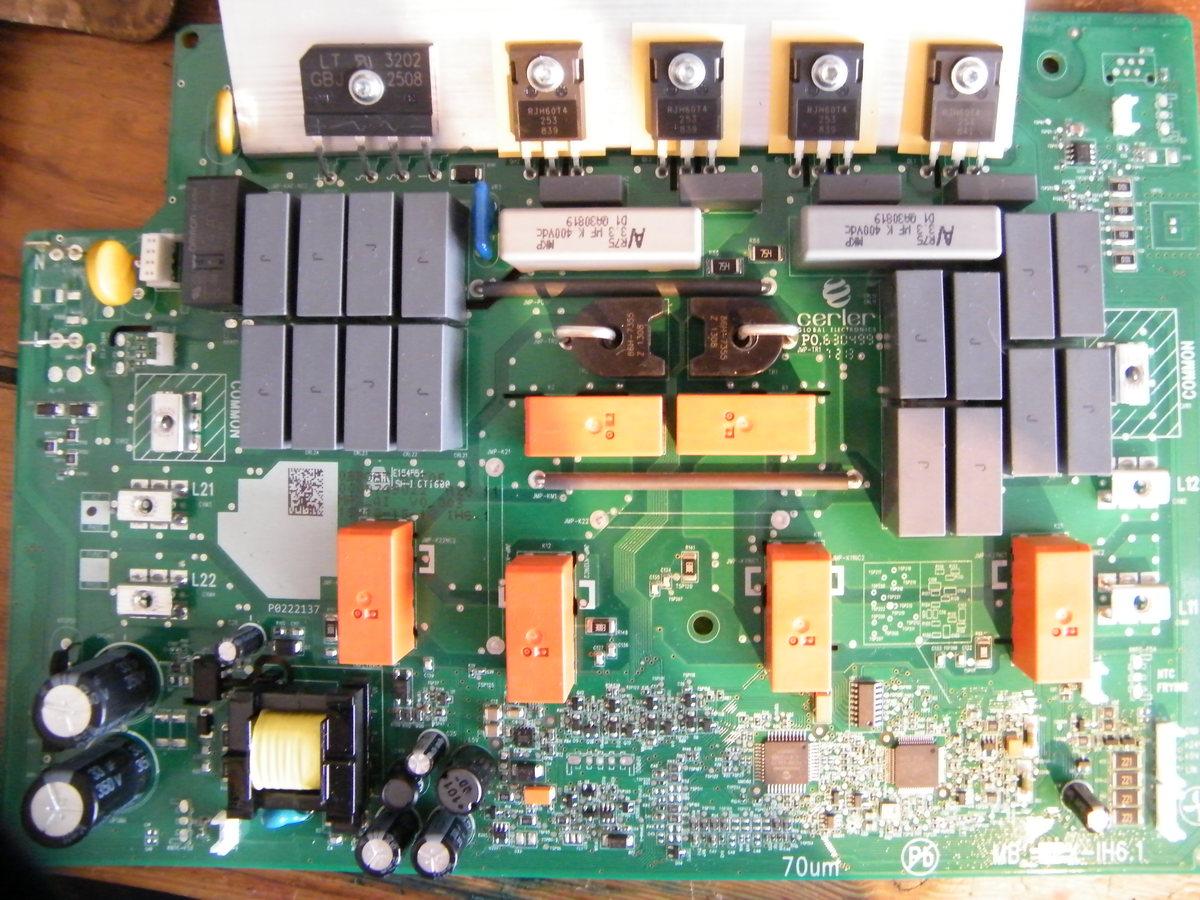 Siemens Induktionskochfeld Platine Defekt Induktionskochfeld Defekt