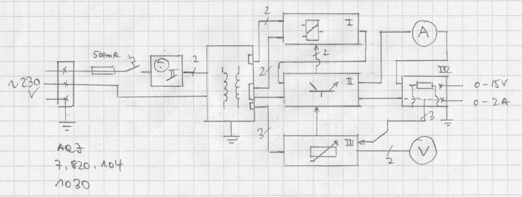 Suche Schaltplan für Labornetzteil 15V 2A - Mikrocontroller.net