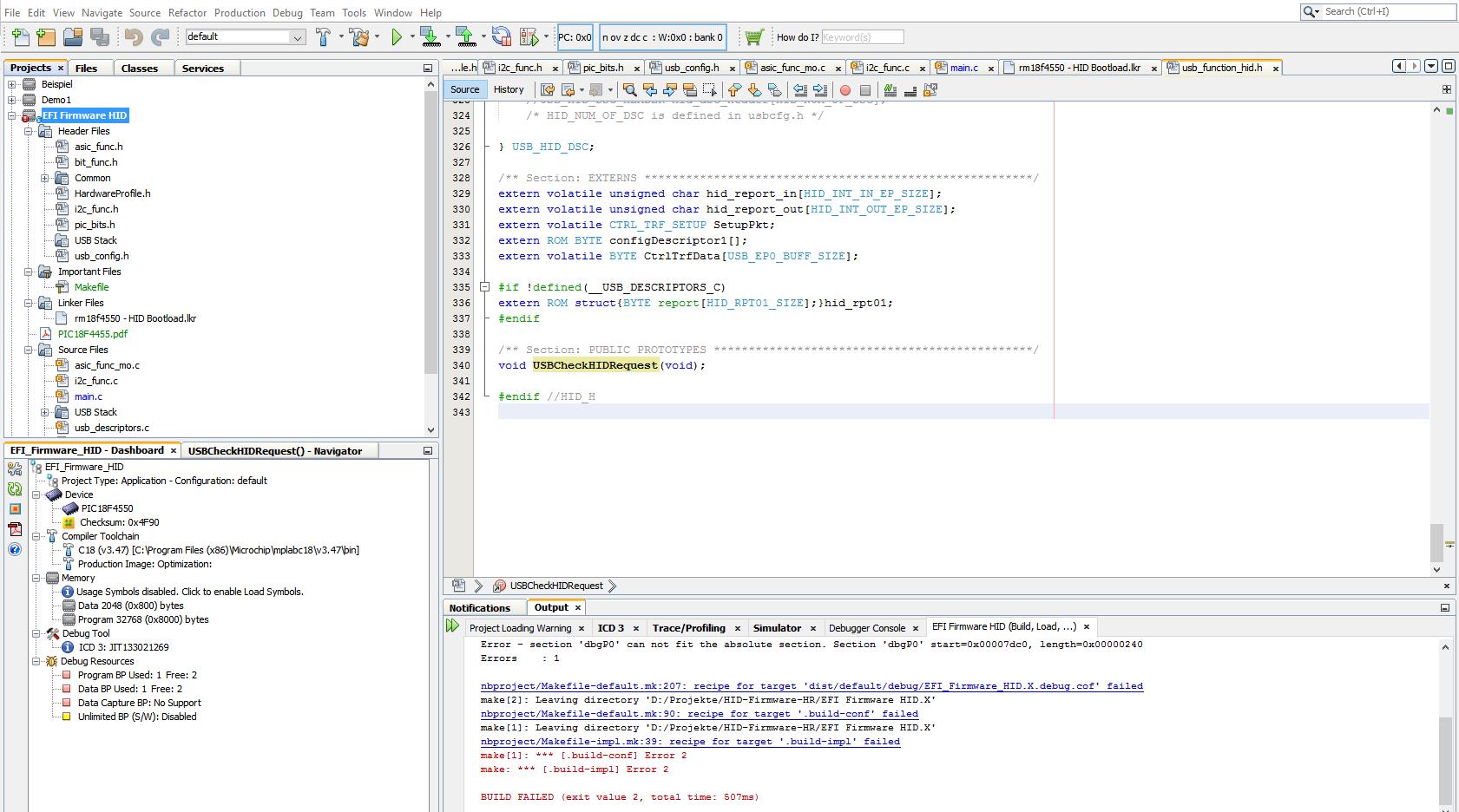 Unterschied Zwischen Bei Compiler Mplab C Und Xc Microchip Software Preview Image For X Ide