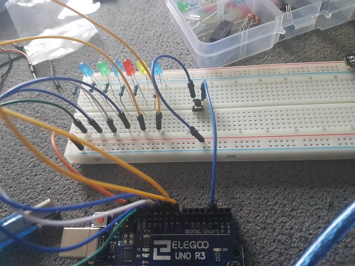 Mit Taster aus der Schleife - Mikrocontroller.net