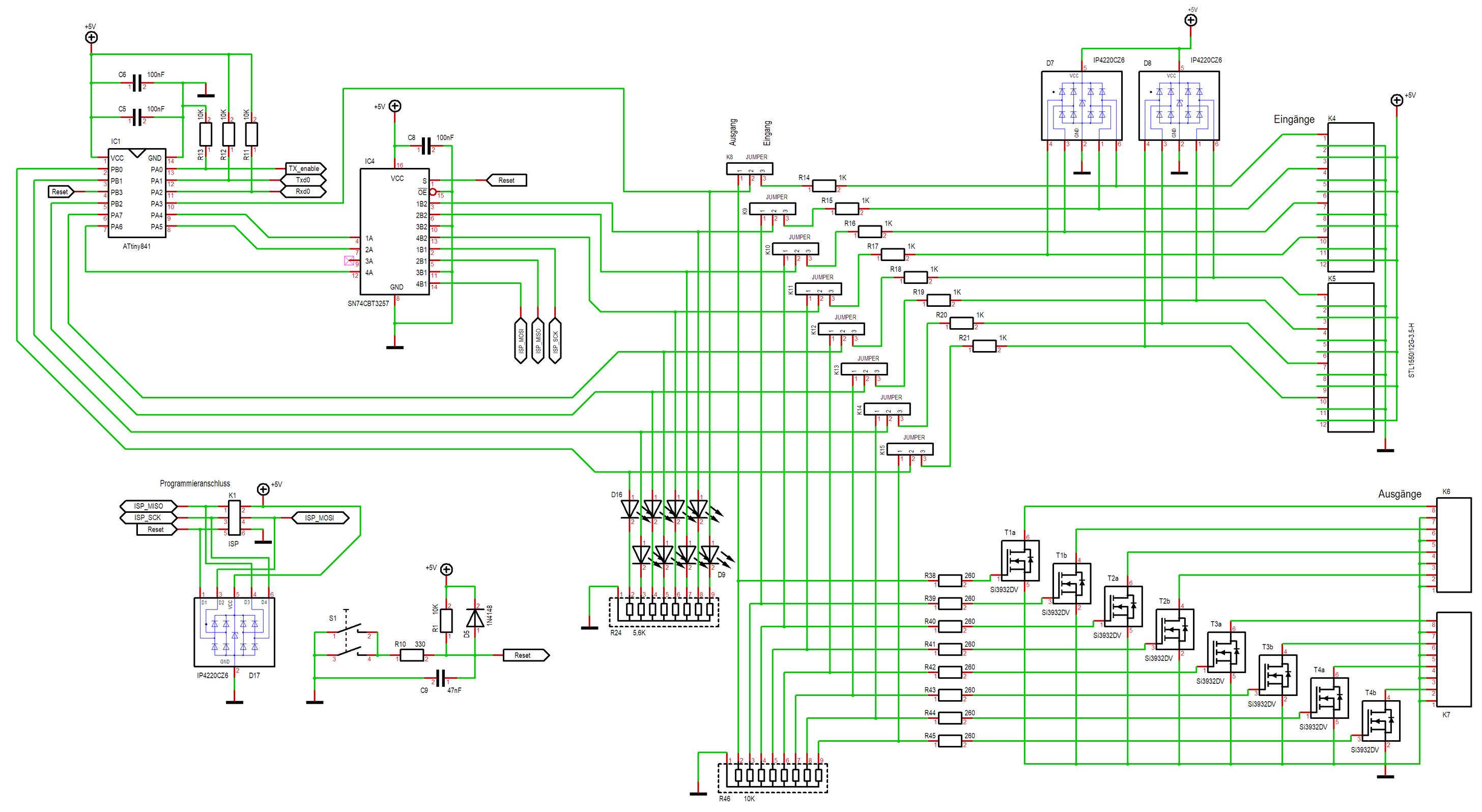 74CBT3257 - In/OUT universell oder doch nicht ? - Mikrocontroller.net