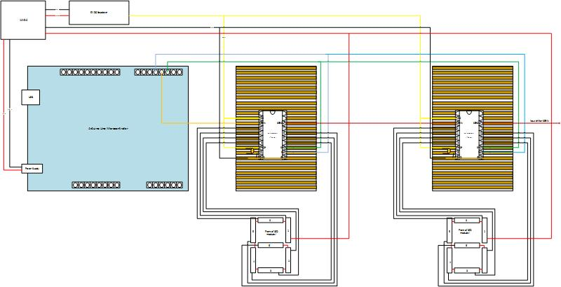 tpic6b595 7 segment led strips max strom. Black Bedroom Furniture Sets. Home Design Ideas
