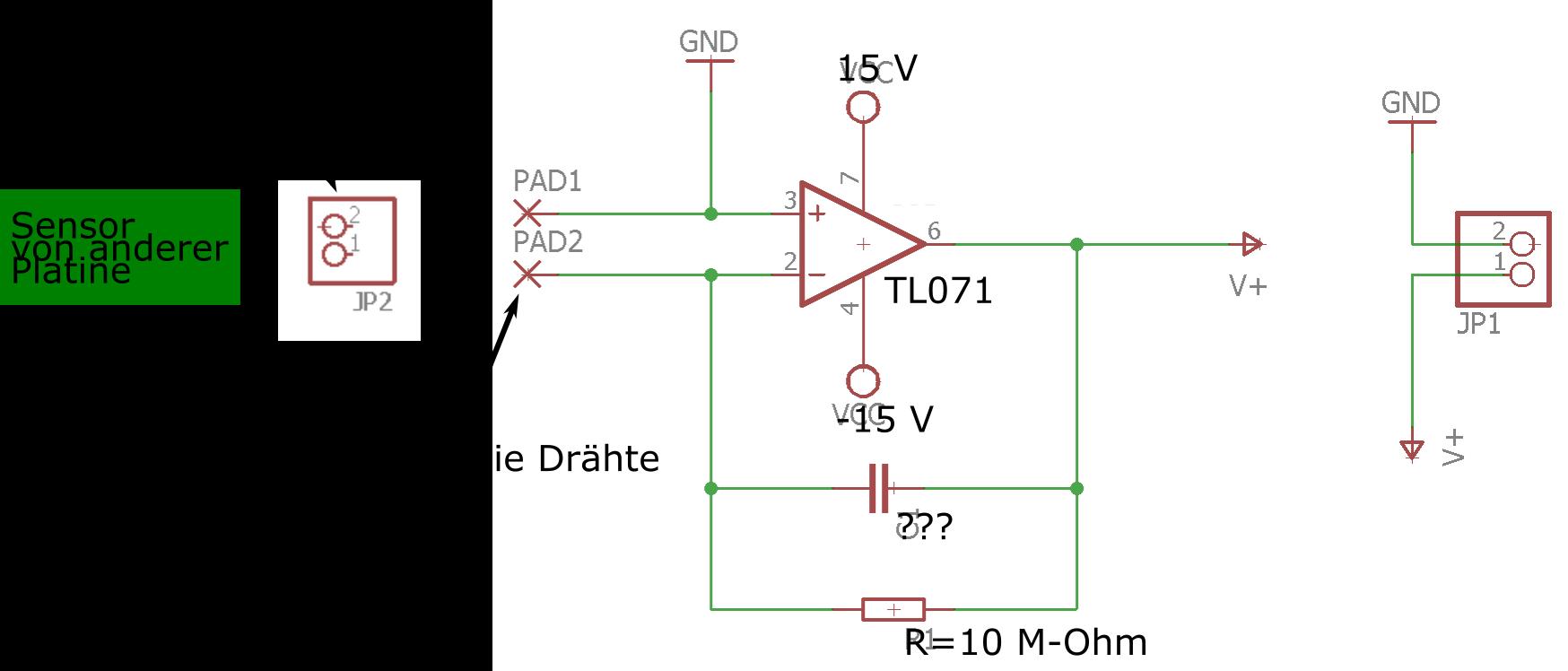 Hilfe bei Piezo Kraftsensor Schaltplan - Mikrocontroller.net