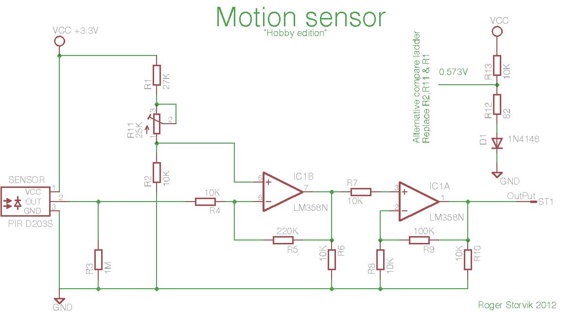 D203S PIR mit ATMega 328 auslesen - Mikrocontroller.net
