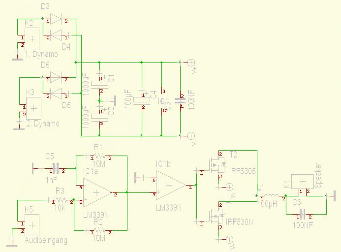 Audioverstärker Klasse D Schaltplan gut? - Mikrocontroller.net