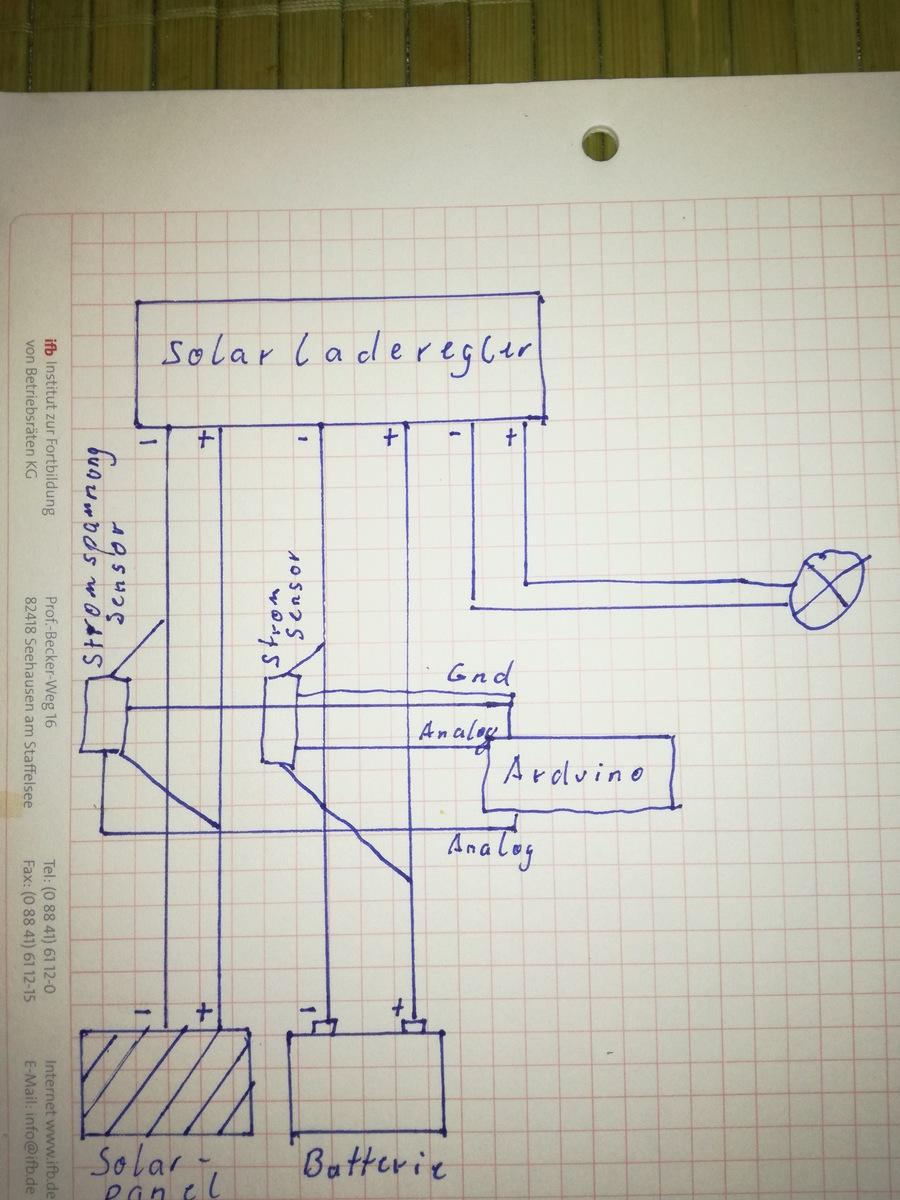 Arduino Spannung messen Solaranlage - Mikrocontroller.net