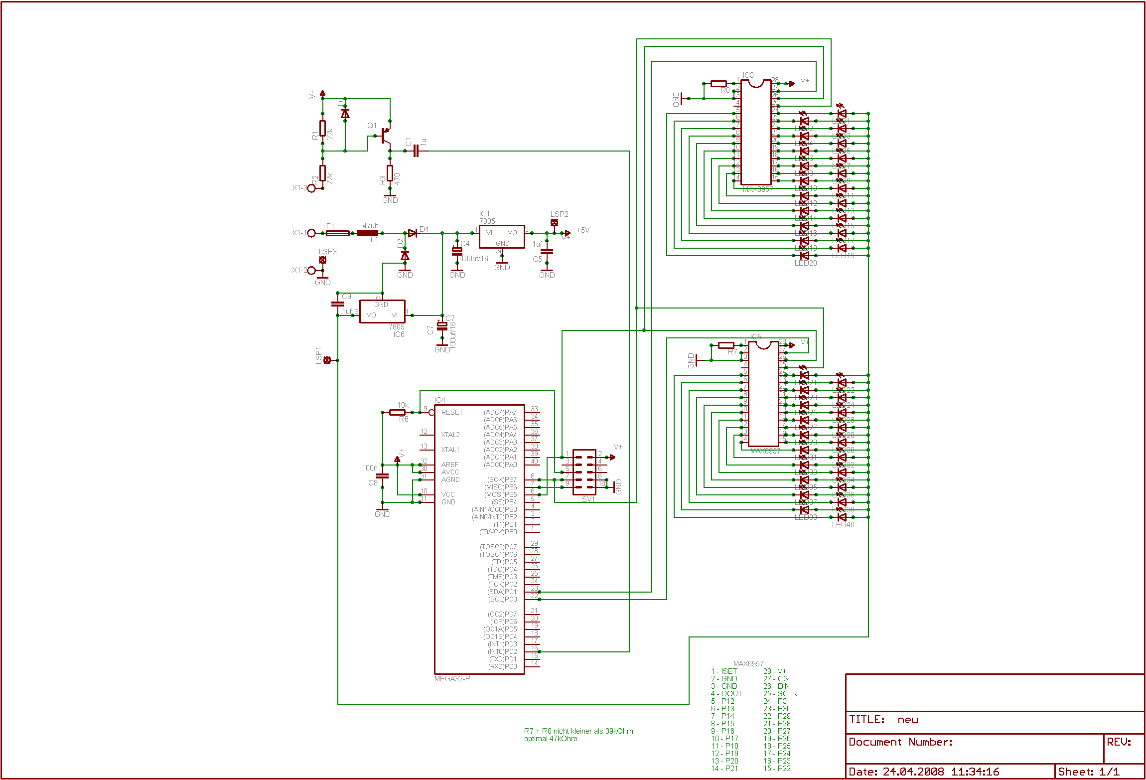 Digitaler Drehzahlmesser - Mikrocontroller.net