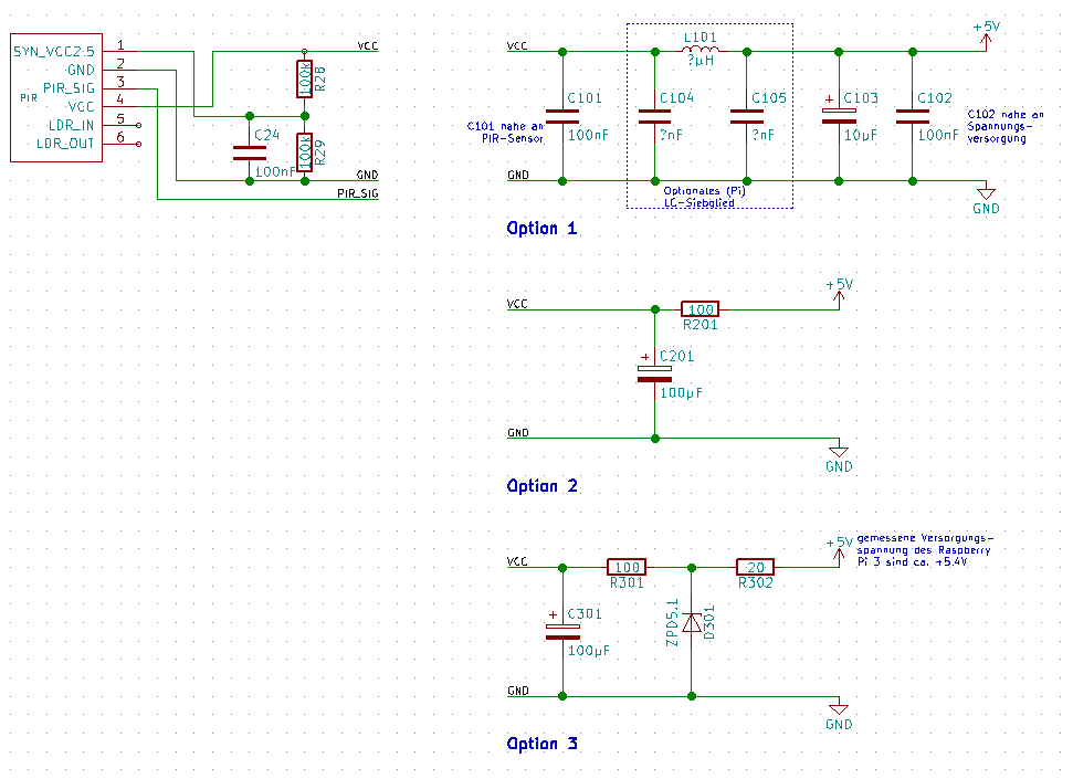 PIR-Sensor löst unerwünscht aus - Mikrocontroller.net