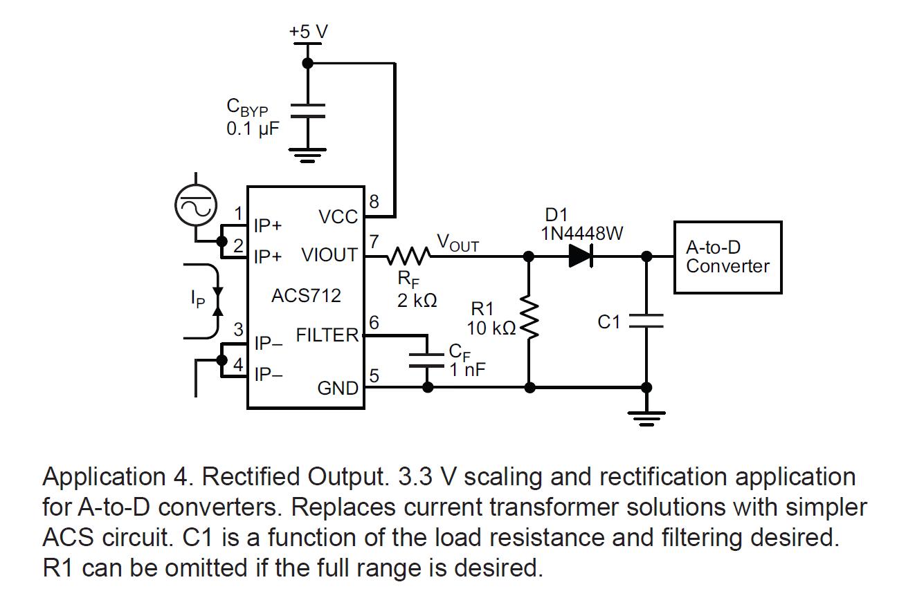 Datasheet_ACS712_Rectified_Output Datasheet Acs on arduino examples, arduino dc, current sensor pin, current sensor module arduino, ac current measurement arduino,