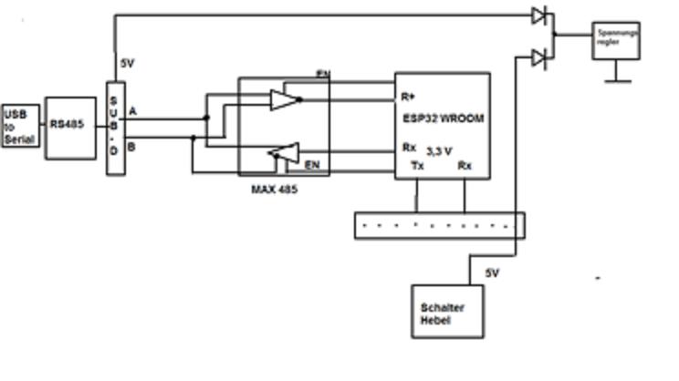 Arduino Board mit RS485 und ESP32 Wroom - Mikrocontroller net