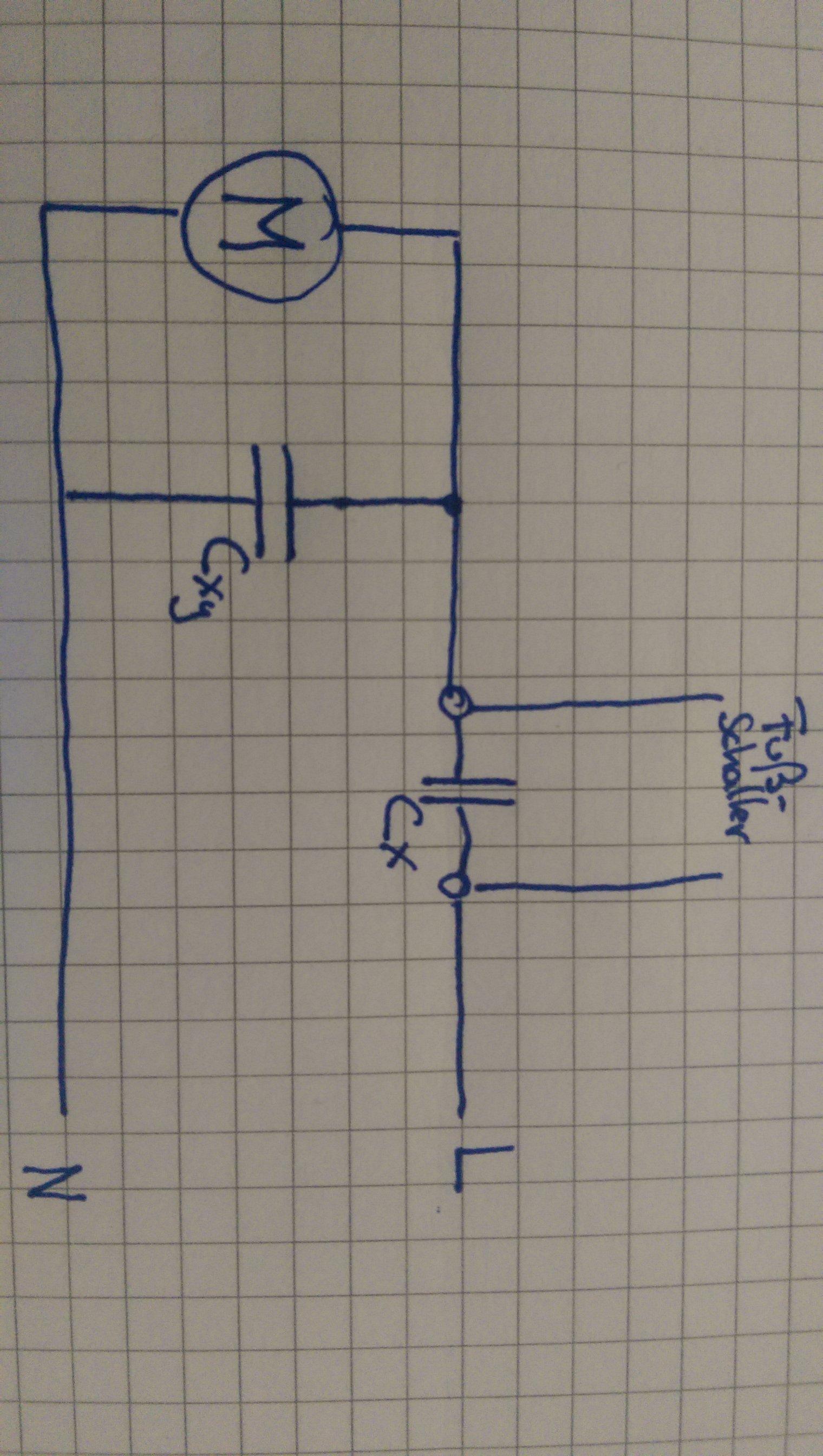 Wunderbar Schaltplan Für Kondensatorstartkondensator Ideen - Der ...