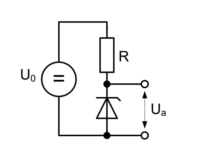 schaltung mit zener-diode