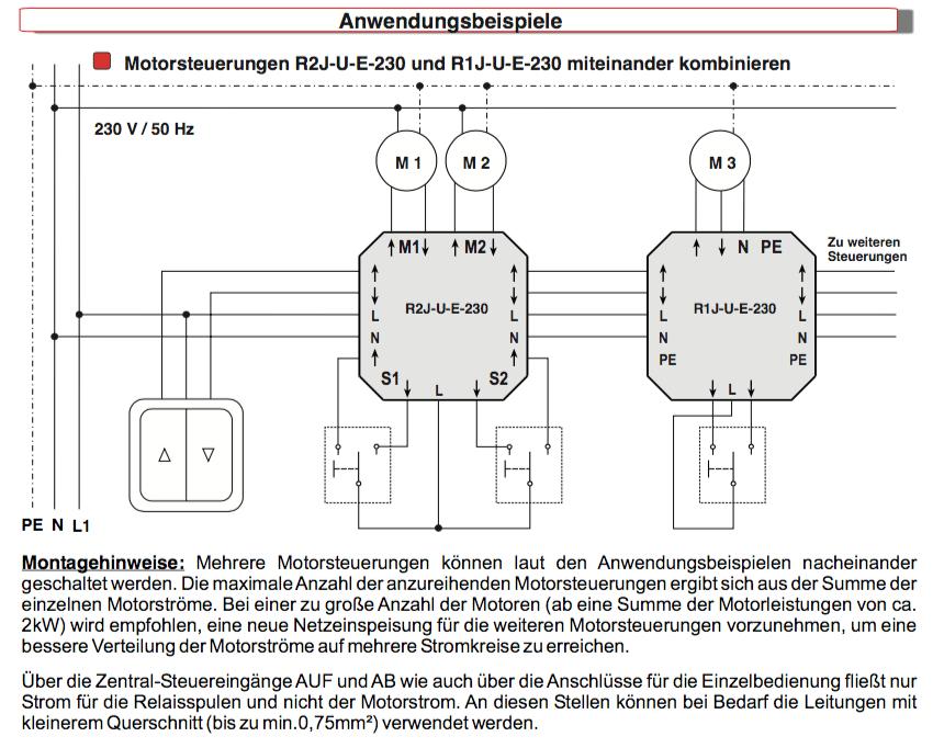 Schön Verdrahtung Mehrerer Lichtschalter Bilder - Elektrische ...