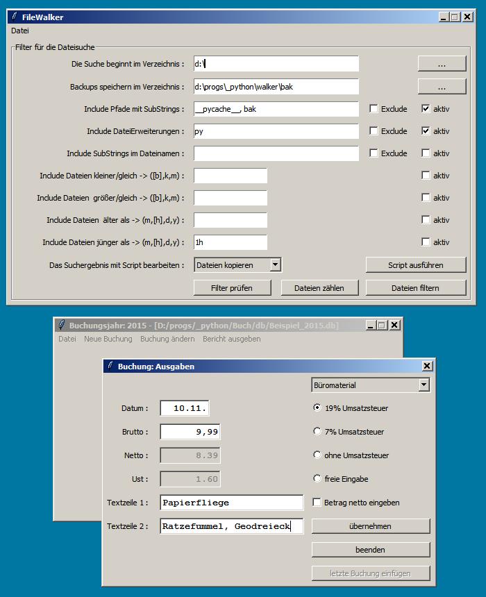 Einfache Python-GUIs  - Mikrocontroller net