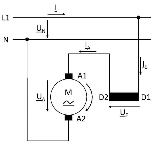 Kondensatormotor Berechnen. drehstrommotor mit kondensator die ...