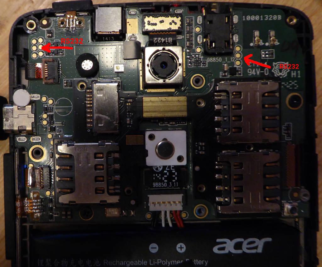 Acer liquid z220 manual