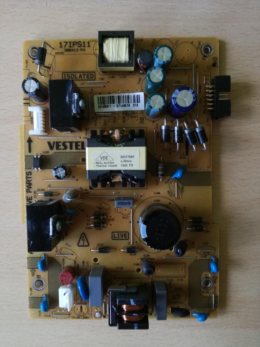 Telefunken - Fernseher Netzteil defekt - Mikrocontroller net